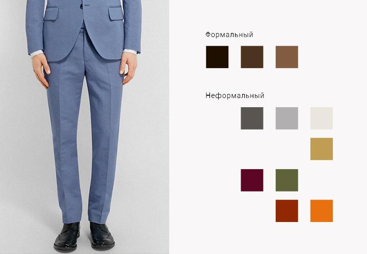 591a3f4486921 Мужской гид: костюм, полуботинки, носки и ремень/Гардероб/Стиль ...