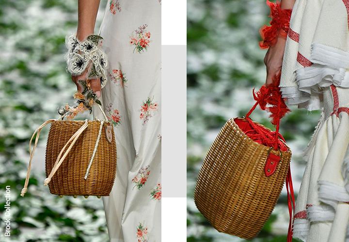aeb547cf3c1d ... корзинки и соломенные сумки, тренды весна-лето 2018 ...