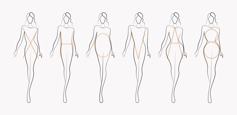 Лекция IFM №5. Типы женских фигур X, H, O, V, A, 8. Как корректировать недостатки и подчеркивать достоинства. Выбор одежды и обуви