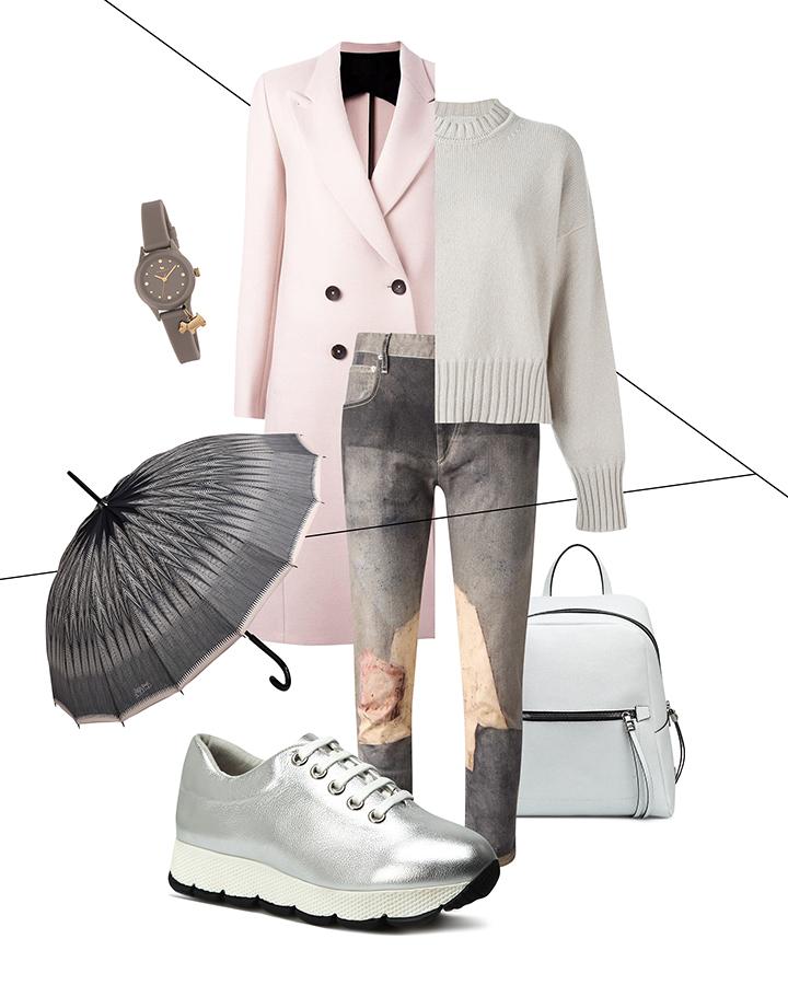 С чем носить розовое пальто? Светло-розовый как тренд весна-лето 2017